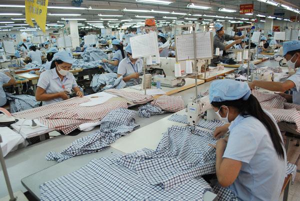 xin giấy phép đăng ký kiểm tra chất lượng hàng dệt may