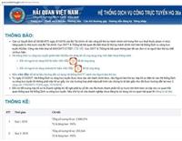 Xác nhận hạn ngạch tôn màu NK qua dịch vụ công trực tuyến