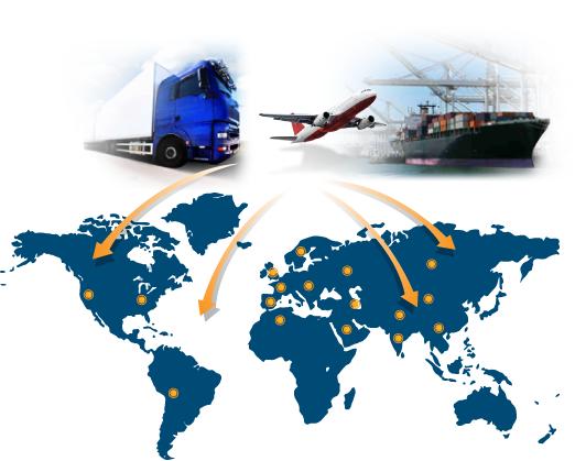 Dịch vụ vận chuyển nhanh hàng hóa quốc tế
